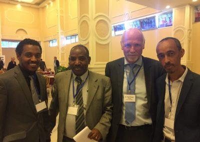 2016: Fra konferanse i Etiopia, november 2016.