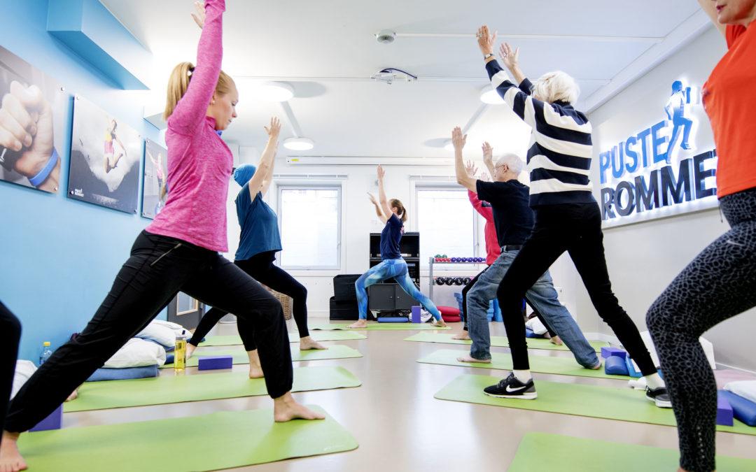 Les rapporten her! Trening og kreft: Samfunnsverdien av trening for kreftrammede