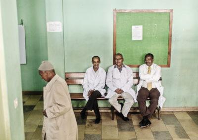 2015: VGHELG Kreft i Etiopia. Landet har kun tre kreftleger fordelt på over 90 millioner innbyggere. Assefa Mathewos (sjef for kreftavdelingen ved Black Lion Hospital), Tigeneh WondemagignjoFoto: JØRGEN BRAASTAD, VG