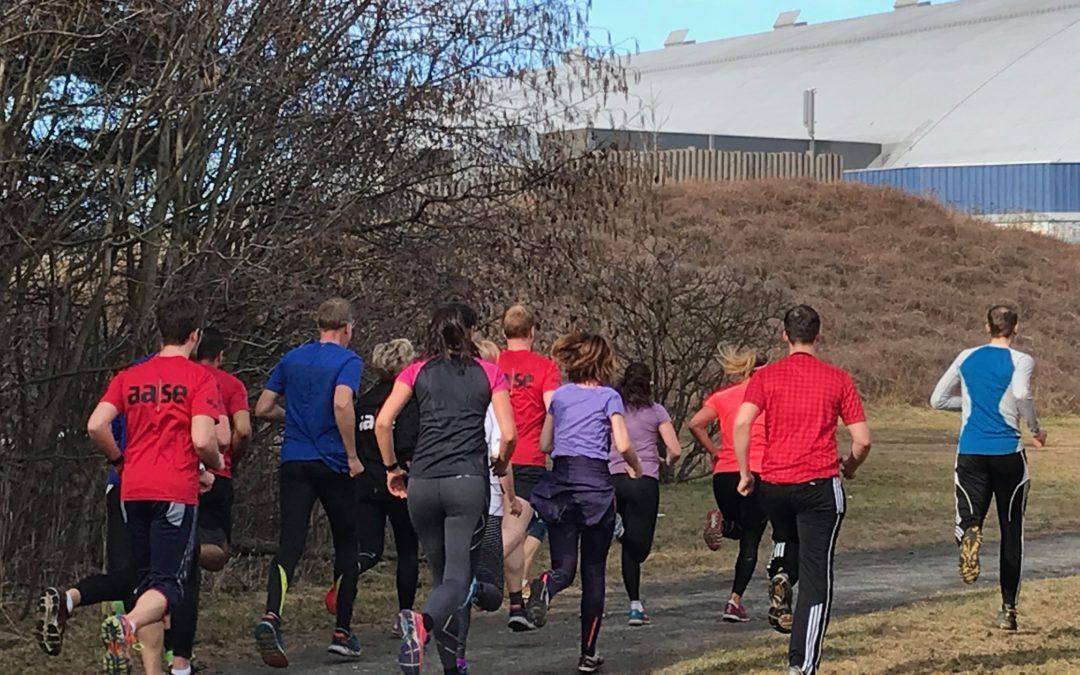 Løpekurs for Aase Byggeadministrasjon