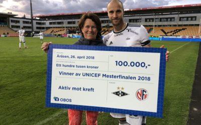 100.000,- fra Rosenborg Ballklub
