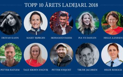 Helle nominert til årets Ladejarl