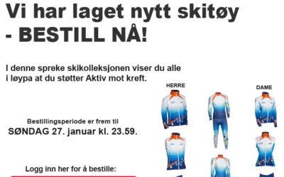 Bestill Aktiv mot krefts nye skikolleksjon