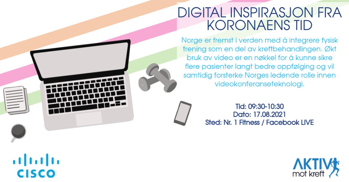 Digital inspirasjon i koronaens tid